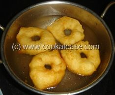 Vadai-South Indian style