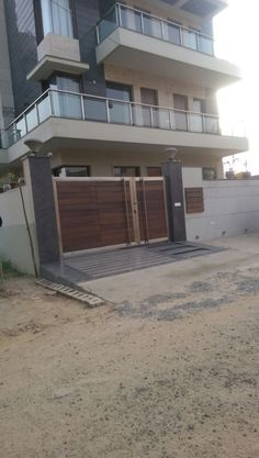 Gate Wall Design, Home Gate Design, House Main Gates Design, Steel Gate Design, Front Gate Design, Home Building Design, House Front Design, Door Design, House Front Gate
