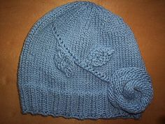 Ravelry: The Elusive Blue Rose Hat pattern by Jana Pihota