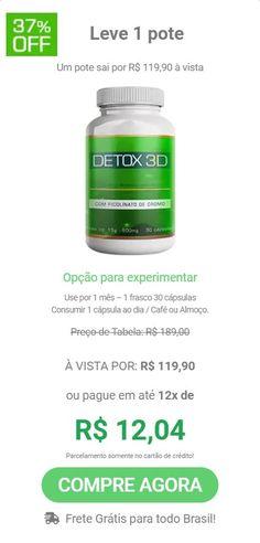 detox 3d onde comprar