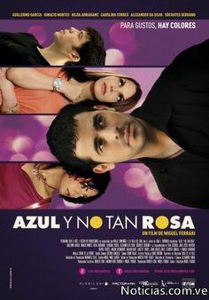 "Cine LGBT. Nuevo Film venezolano ""Azul y no tan Rosa"". http://blog.friendlymap.com.uy/?p=5549"