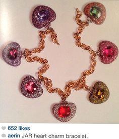 Jewels by JAR -Charm bracelet via Aerin Lauder