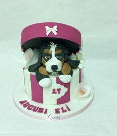 Dog Cake  by Donatella Bussacchetti