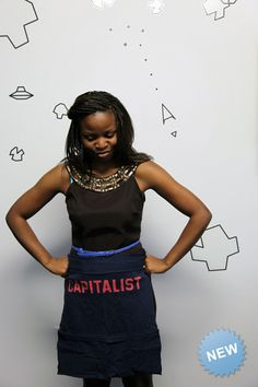 Talented Bay Area women will take your washed t-shirt, the one you can't part with, and create a one-of-a-kind handmade (half) vintage apron. Aprons custom for you includes handy pockets along the bottom edge and ties in the back.
