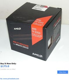 computer parts: Amd Cpu Fx-8350 Black Edition 4.2 Ghz Turbo 8-Core Socket Am3+ W/ Wraith Cooler BUY IT NOW ONLY: $175.0 #priceabatecomputerparts OR #priceabate