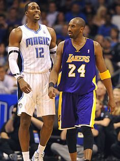 Dwight Howard will team up with Kobe Bryant in Los Angeles.