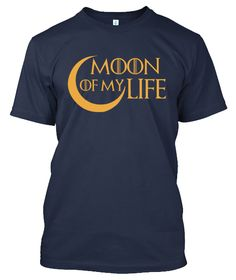 Grab this Limited Edition Khal & Khaleesi - Game of Thrones tee and hoodie...!!! MOON OF MY LIFE FREE Shipping For Pre-Paid payment, Get discount of Rs. 50/- Cash On Delivery High Quality Print 15 Days Free Returns