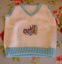 Baby boys tank top by Happilyevercrafts on Etsy, £12.00