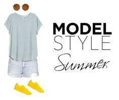 """""""Untitled #4"""" by albertenowak on Polyvore featuring beauty, Topshop, H&M, Forever 21 and adidas Originals"""