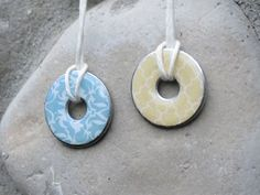 Washer Pendant Necklace Tutorial