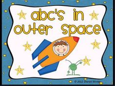 Blast off into outer space with this cute game for early learners.  Pre-k, Kindergarten and even 1st graders will love playing this game that reinf...
