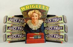 Wrigley's Gum Cardboard Store Display