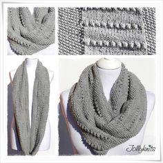 NEBULA Strickanleitung Loop / Nebula Cowl knitting pattern