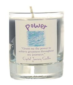 Soul To Soul Treasures - Power Reiki Infused Intention Votive Candle
