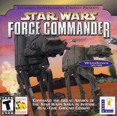 Star Wars: Force Commander (Jewel Case) - PC  #dc #ps4 #comics #mayflash #marvel #gamer #xbox