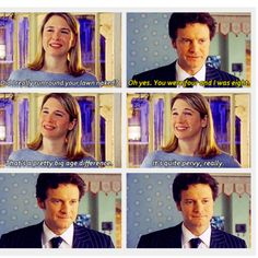 Bridget Jones Diary. Gosh, I love this movie more and more every time I see it. It's so very good.