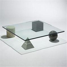 Lella and Massimo Vignelli Metaphora 1 coffee table Casigliani Italy