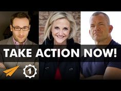 """✎ Take Action NOW! It is such a simple, yet powerful advice given by many successful people around the world, including Simon Sinek, Mel Robbins, and John """"J. Mel Robbins, Inspirational Speeches, Stay Young, Take Action, Successful People, People Around The World, Simon Sinek, Youtube, Entrepreneur"""