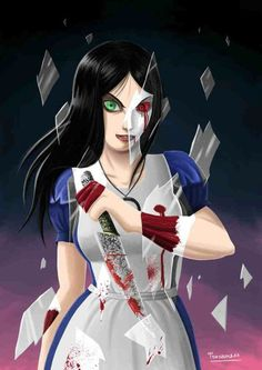 Alice Madness Returns 2 by tonyzuka on DeviantArt Dark Alice In Wonderland, Adventures In Wonderland, Lewis Carroll, Alice Madness Returns 2, Chibi, Alice Liddell, Pin Up, Grunge, Were All Mad Here