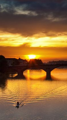 Thinking of my next big vacation....Sunset in Florence, Italy