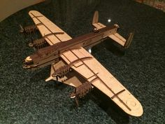 Lancaster bomber done by customer