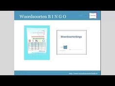 Grammatica: Zo speel je woordsoorten B I N G O