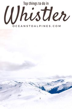 Check Out The Top Five Things To Do When Visiting Whistler, Canada During The Winter Months. The Popular Ski Resort Destination Has So Much More To Do Than Skiing And Snowboarding. Look at Other Things Like Hiking To A Train Wreck And Ziplining Whistler Canada, Canada Vancouver, Vancouver Travel, Quebec, Canada Destinations, Amazing Destinations, Toronto, Banff, Visit Canada