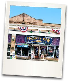 Best pizza, even better breakfast and yummy drinks. Frosty Bar at Put-in-Bay, Ohio.