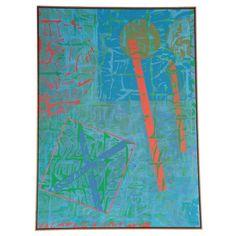 Fine Arts Center, Cincinnati Art, Canvas Signs, Art Institute Of Chicago, Acrylic Painting Canvas, Abstract Expressionism, Art Museum, Wall Art Decor, Artist