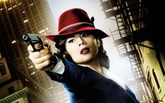 Hayley Atwell reveals she would love to make an entire Peggy Carter movie, while discussing the Agent Carter cancellation. Hayley Atwell, Peggy Carter, Agent Carter, Movies Coming Out, Marvel Dc, Tv Series, Sexy, Tv Shows, Pictures