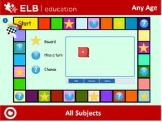 Use this board game template to create a fun interactive lesson for your touch screen. Students can roll the dice and move their counters. Each square is linked to another page for you to add your own questions, activities, rewards and forfeits! Access the lesson by clicking on this link or copying it into your browser. Don't have Presenter? Follow the link to create a free account! #ELBacademy, #ELBeducation, #Prowise, #Prowise Presenter, #Edtech, #Aussieteachers, #digitalclassroom