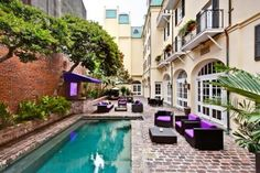 Hotel Le Marais - In the French Quarter. Has an outdoor saltwater pool.