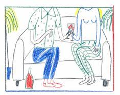 Buntstiftzeichnungen mit Witz | PAGE online | Henriette Artz Illustration