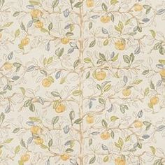 curtains? ETHEL - CHARLOTTE MOSS FABRICS - GOLDEN DELICIOUS