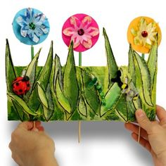spring crafts for preschoolers | ... . Perfect timing on this craft as spring is right around the corner