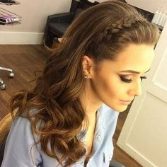 Party hairstyles 583427326706434405 - Hairstyles diy and tutorial for all hair lengths 168 Best Wedding Hairstyles, Trendy Hairstyles, Braided Hairstyles, Fashion Hairstyles, Party Hairstyles For Long Hair, Braided Waves, Diy Haircut, Short Wedding Hair, Braid Styles