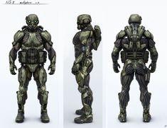 Nanosuit 2 (multiplayer version)