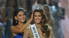 Miss France beats Haiti and Colombia to clinch Miss Universe title #Entertainment_ #iNewsPhoto