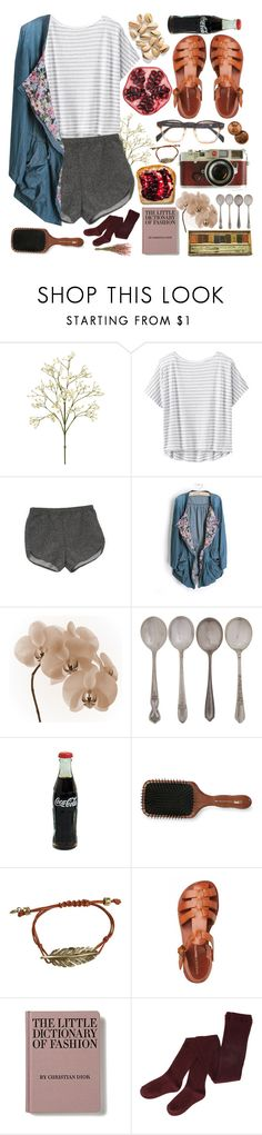 """""""Sour Taste in my Mouth"""" by ftrees ❤ liked on Polyvore featuring Athleta, American Apparel, WALL, Leica, Acca Kappa and FOSSIL"""