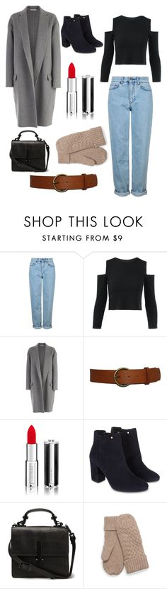"""""""Noora Saetre skam style"""" by annaanderson20616 ❤ liked on Polyvore featuring Topshop, CÉLINE, Givenchy and Monsoon"""
