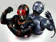Mask Rider Black and Shadow Moon