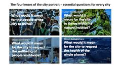"""""""How can our city be a home to thriving people, in a thriving place, whilst respecting the wellbeing of all people, and the health of the whole planet?"""" #doughnuteconomics #regenerativeeconomy Essential Questions, Ecology, Economics, Habitats, Sustainability, Innovation, This Or That Questions, City, Health"""