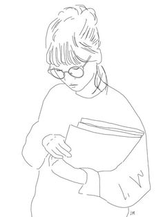 Imagen vía We Heart It #aesthetic #art #draw #girl #lines #minimal #pale #sketch