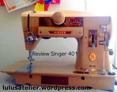 This is my Singer 401 machine. My very first vintage sewing machine I bought after I married. I have nothing but great things to say about it. This model is perfect if you are getting started with …