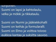 Suomi on  -runo  (a poem about Finland written by Jukka Ukkola) - YouTube