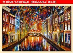 Night Amsterdam  Limited Edition Holland #art #print #digital @EtsyMktgTool http://etsy.me/2aXTpjp