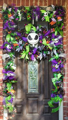 Jack Skellington Garland and wreath set