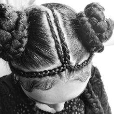 fka twigs hair      pinned by http://shoestringstylist.co/