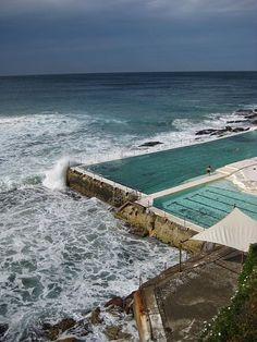 Bondi Icebergs swimming pool in Sydney, Australia - and open to the public!