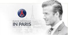 David Beckham in PSG.